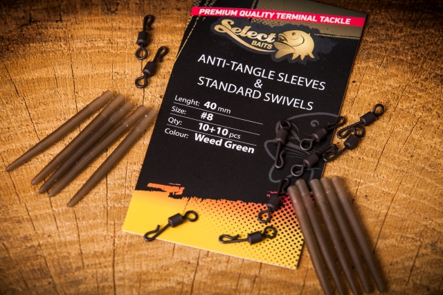 Select Baits Anti-tangle Sleeves and Standard Swivels