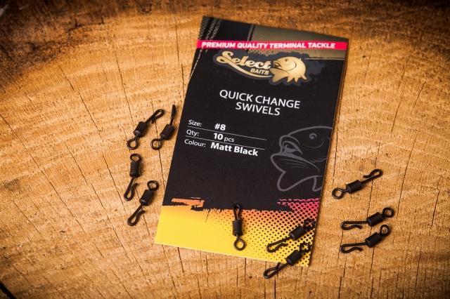 Select Baits Quick Change Swivels