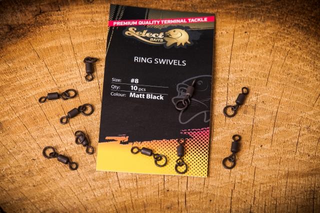 Select Baits Ring Swivels