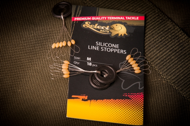 Select Baits Silicone Line Stoppers