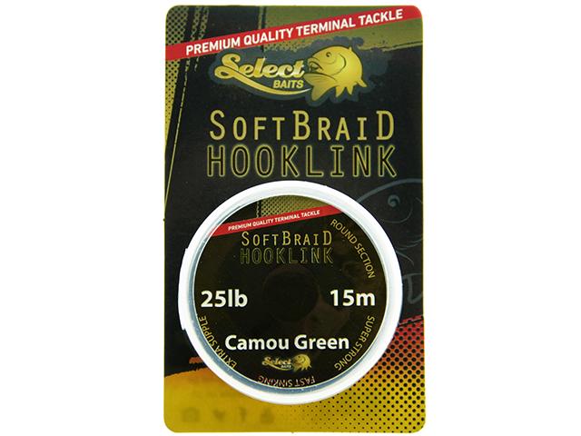 Select Baits Soft Braid Hooklink 25lb