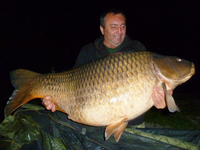 'Gusti' and Select Baits one step away from the world record of common carp