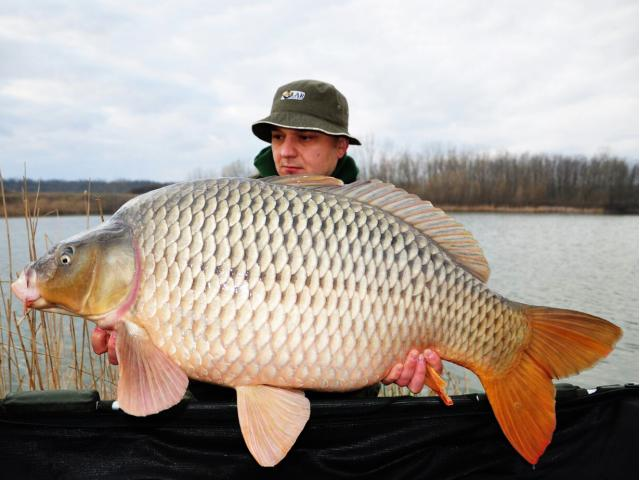 Start de sezon: Andy, HOT FISH si crapul de 20.4kg