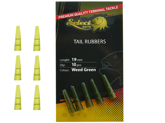 Select Baits Tail Rubbers
