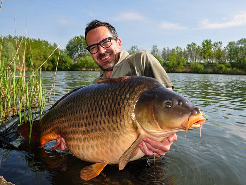 Pierre and the most spectacular carp from Varlaam